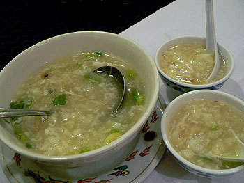 Dinner In 15: Chinese Corn and Crab Soup