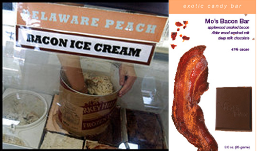 Would You Rather Eat Bacon Ice Cream Or Bacon Chocolate?