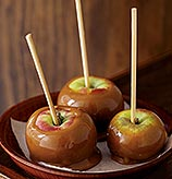 Perfect October Dessert: Caramel Apples