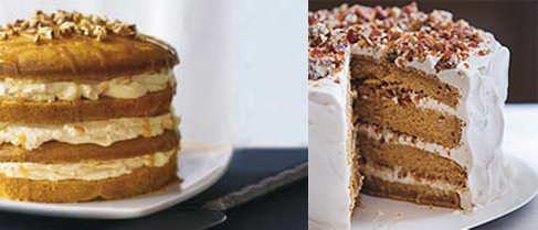Pumpkin Cake Two Ways — Beginner &  Expert