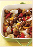 Fast & Easy Dinner: Italian Sausage and Potatoes