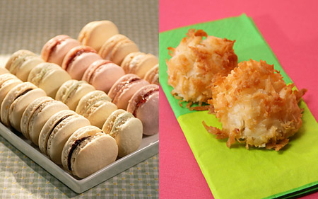 Would You Rather Eat French or Coconut Macaroons?