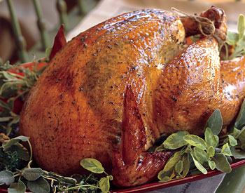 Come Party With Me: Classic Thanksgiving — Menu (The Bird)