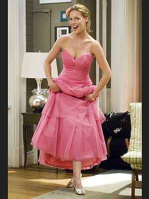 """PRETTIEST PRINCESS For this pink Cinderella concoction, Thomas was inspired by """"that little kid vision of weddings."""""""