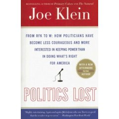 Bookmobile: Politics Lost, by Joe Klein