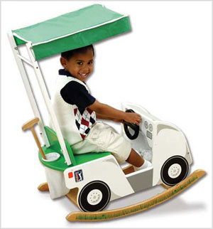 Toy Box: PGA Tour Golf Cart Rocker