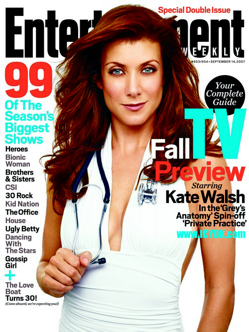 kate walsh on  EW cover!