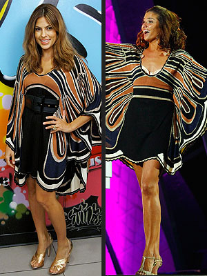 WHO WORE IT BEST: EVA MENDES OR NATALIA JIMENEZ