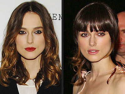 KEIRA KNIGHTLEY: BANGS OR NO BANGS?