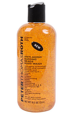 New Product Alert: Peter Thomas Roth Anti-Aging Buffing Beads Body Wash