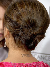 Guess Who? A Brunette&#039;s Updo, Tattoo