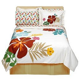 TROPICAL PRINT: Island Life Bedding Collection - Floral