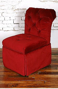 UrbanOutfitters.com > Darburry Storage Chair - Ruby Red
