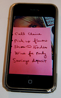 Geek Tip: Use Your Camera Phone To Get Organized
