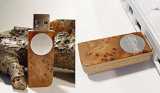 Fancy Wooden USB Device: Geeky or Geek Chic?