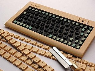 Do It Yourself Wood Keyboard Kit: Geeky or Geek Chic?