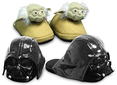 Star Wars Slippers: Totally Geeky or Geek Chic?