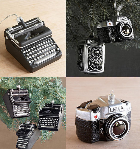 Vintage Geek Ornaments: Totally Geeky or Geek Chic?