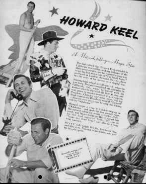 Howard Keel - A Tribute to His Movies and Music