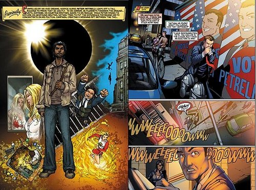 HEROES Graphic novel Chapter three: Nathan