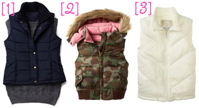 Trend Alert: The Puffy Vest (The Budget Babe)