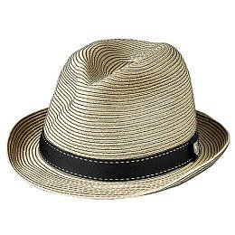 Target : Mossimo? Roma Straw Fedora with Black Band - Khaki