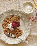 Gingerbread Waffles!