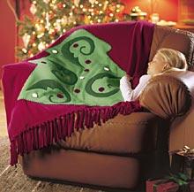 Holiday Fleece Throw
