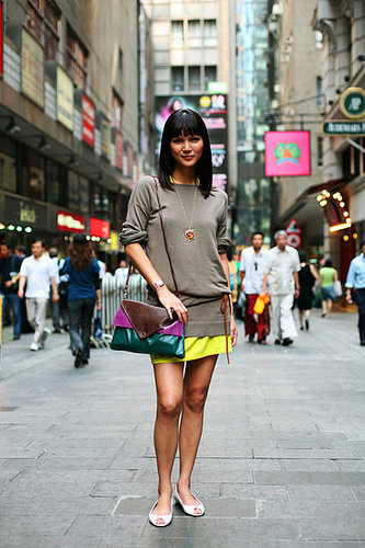 A Hong Kong fashionista with a love for small details.