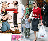 Fashion Faceoff: Angelina Jolie vs. Olive Oyl