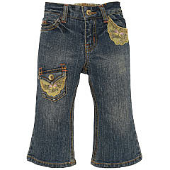 The Children's Place: Clothing for Kids - Product: premium patched flare jeans