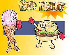 Have you ever been in a food fight?