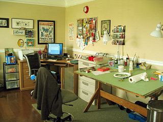 Midday Muse: An Inspiring Work Space