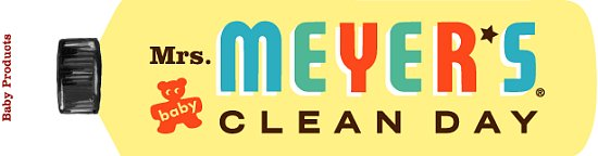 Nice and New: Mrs. Meyer's Clean Day Baby Products