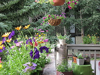 Su Casa: A Flower-Filled Porch
