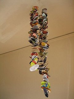 DIY: Recycled Magazine Mobiles