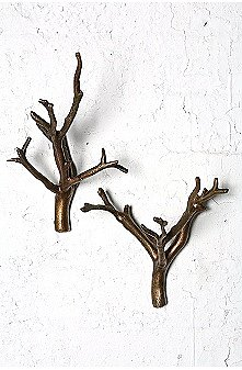 UrbanOutfitters.com, Set of 2 Branch Hooks