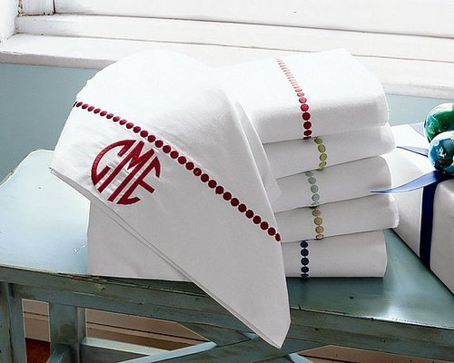 Do You Have Monogrammed Linens?