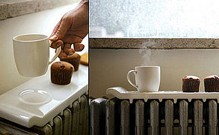 Cool Idea: Ceramic Radiator Food Warmer