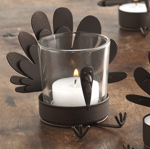 Steal of the Day: Sur La Table Turkey Votive Holder