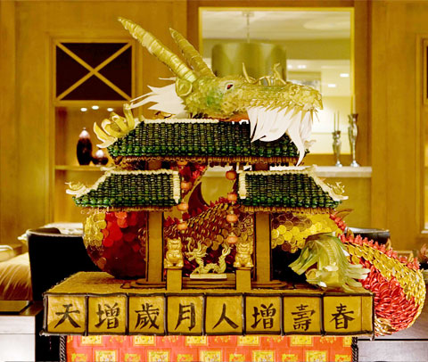 KMD Architects Designs a Chinatown Gate Gingerbread House to Raise Awareness for Juvenile Diabetes