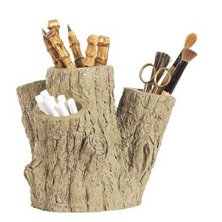 Love It or Hate It? Four-Trunk Faux Bois Planter