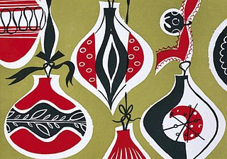 Holiday Card Guide: 1950s Bauble Cards