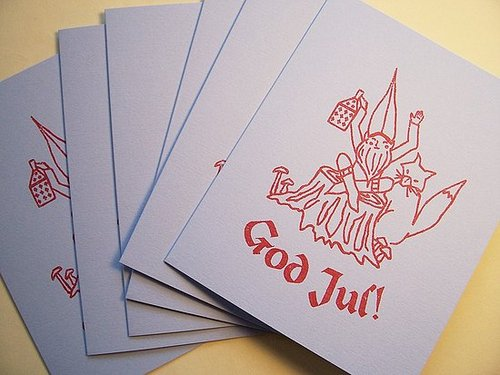 Holiday Card Guide:  Swedish Greetings