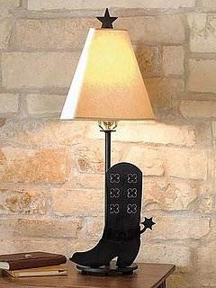 Love It or Hate It? Cowboy Boot Table Lamp