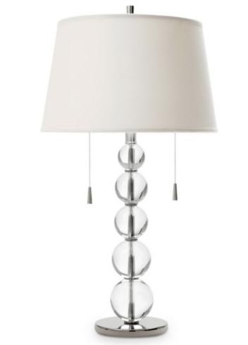 Steal of the Day: JCPenney Crystal Ball Lamp