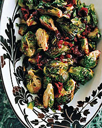Roasted Brussels Sprouts With Cranberry Brown Butter | brussels sprouts, butter, cranberries | teamsugar - Women's Social Networ