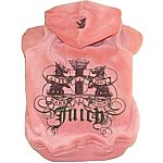 Pink Juicy Dog Hoodie, Juicy Couture