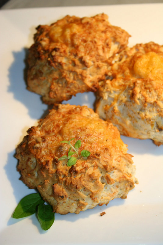 Savory Cheesy Biscuits