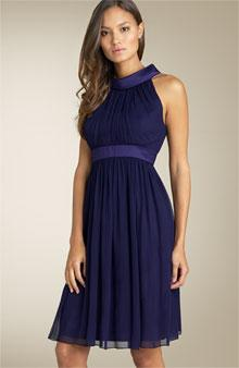 Maggy London Cutaway Silk Dress - - Nordstrom.com